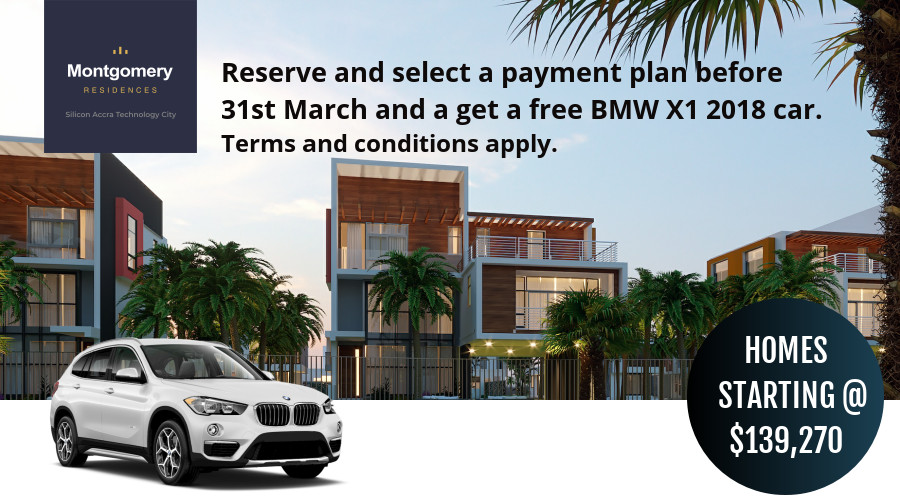 Reserve your home at the Montgomery Residences before March 31 and get a BMW X1. Homes starting at $139,270