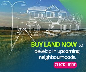 Buy land now in upcoming neighbourhoods to develop your building