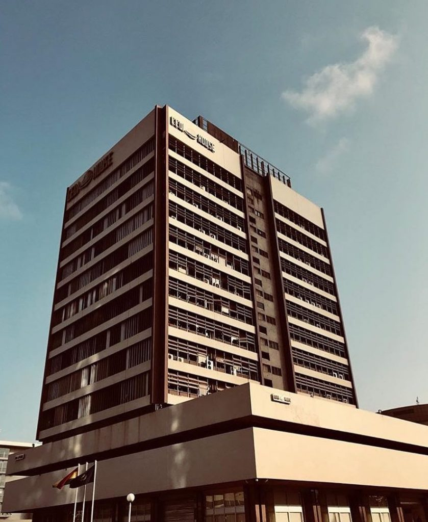Cedi House. One of Ghana's oldest skyscraper and tallest building for a long time. Photo via Nana Osei Kwame