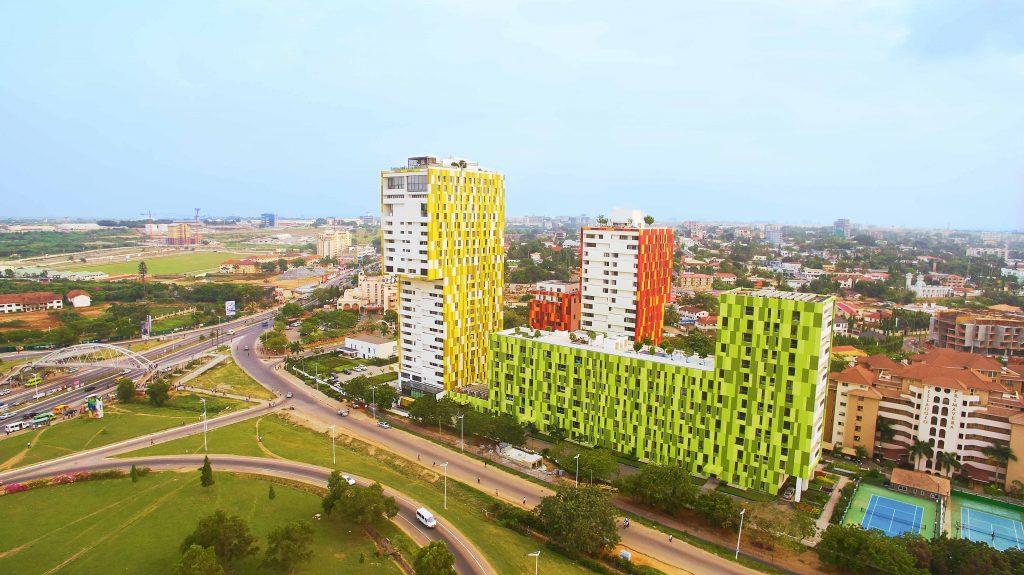 tallest building in ghana