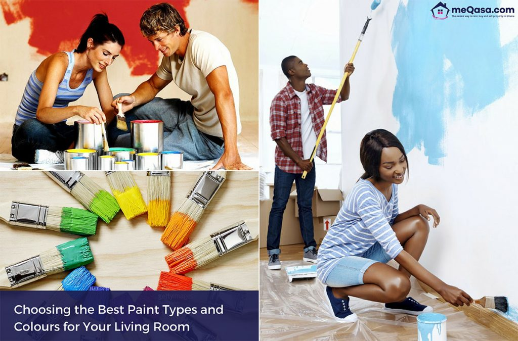 How to Choose the Best Paint Types and Colours for Your Living Room