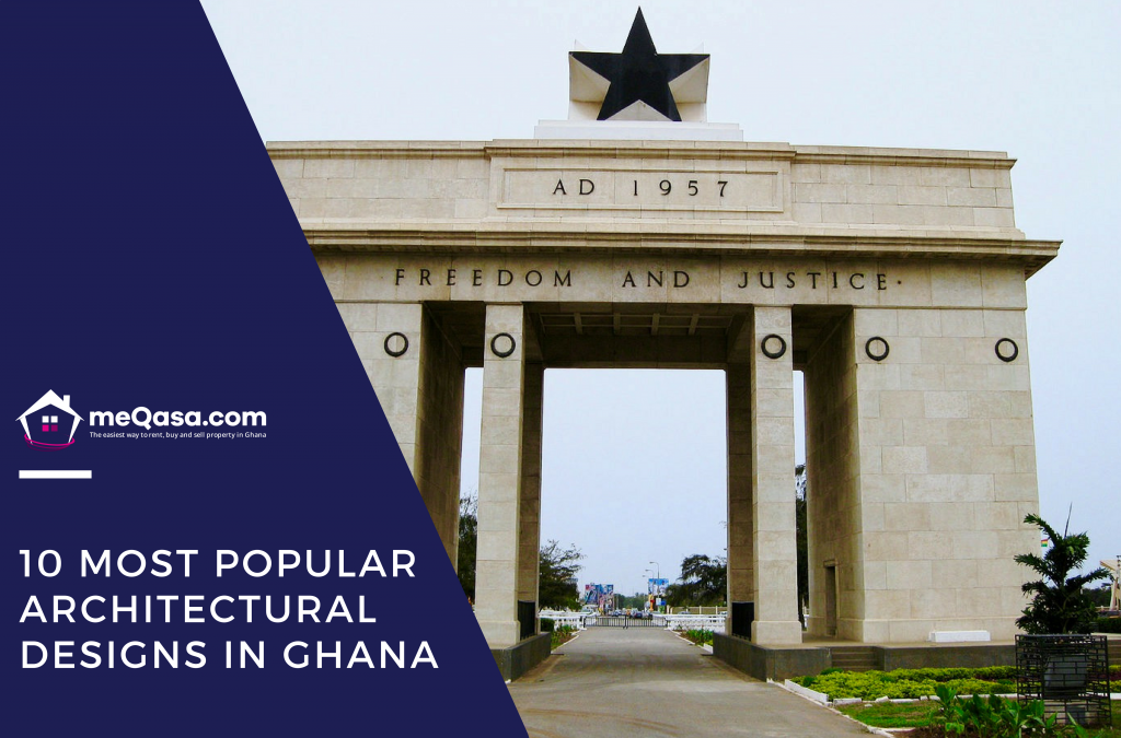 10 MOST POPULAR ARCHITECTURAL DESIGNS IN GHANA