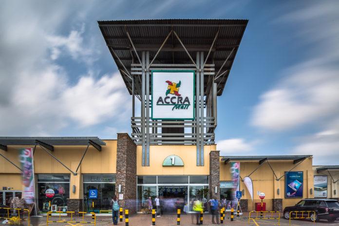 Accra Mall. Photo via ghanamma.com