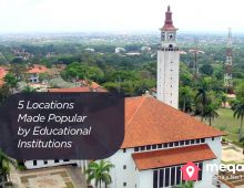 Five Locations Made Popular by Educational Institutions