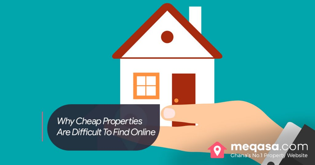 Why Low End or Cheap Properties Are Difficult To Find Online