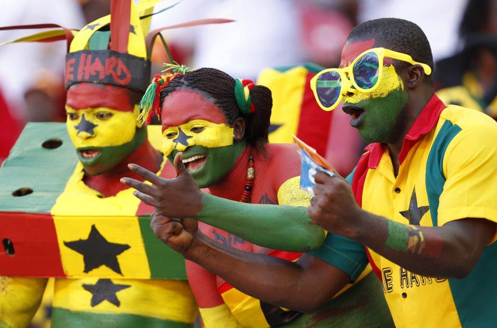 Ghana Black Stars fans