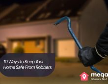 10 Ways To Keep Your Home Safe From Robbers