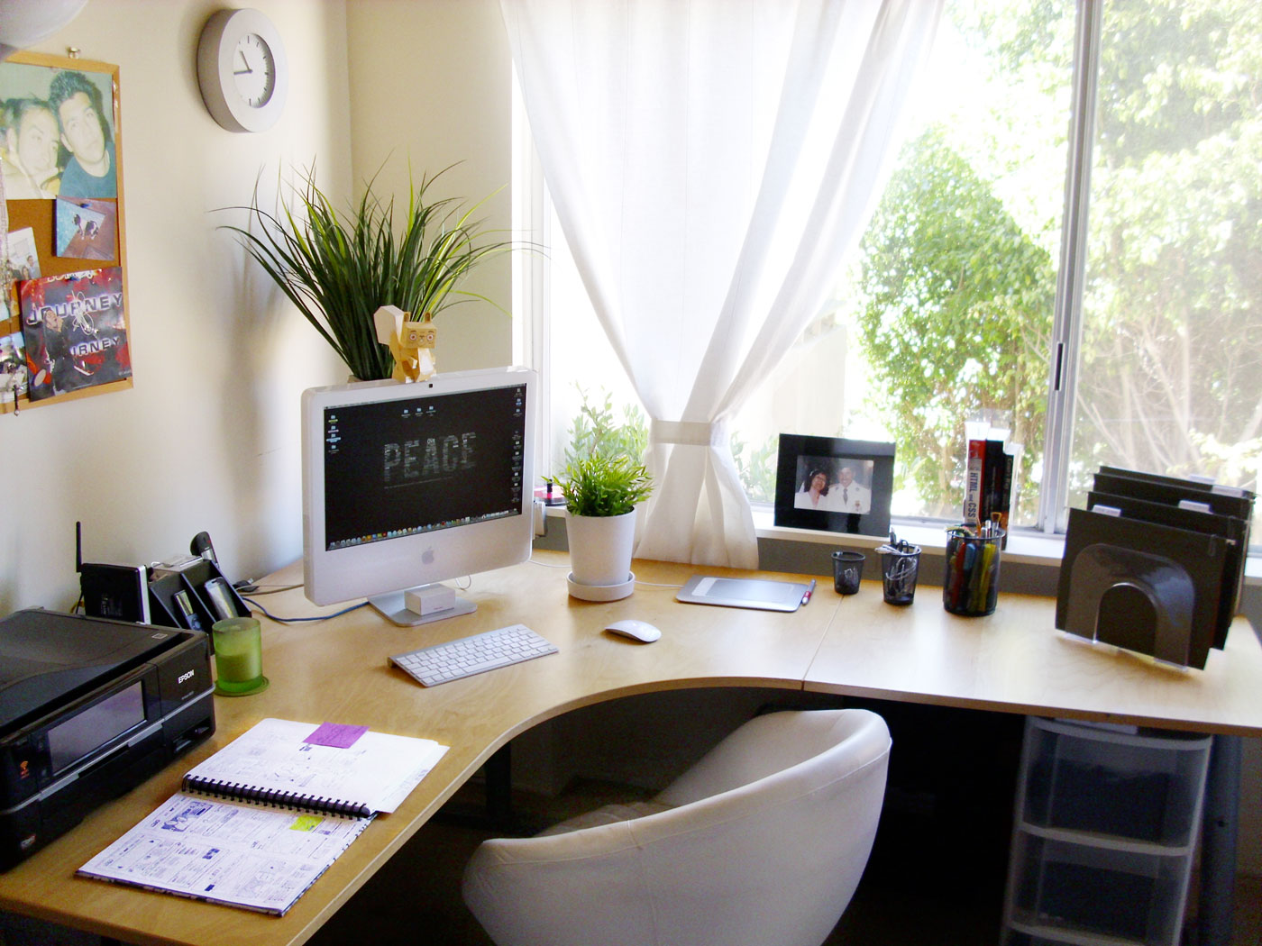 Stupendous Set Up Home Office Edeprem Com Largest Home Design Picture Inspirations Pitcheantrous