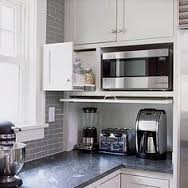 Organised kitchen-appliances