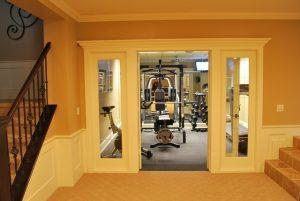 home, gym, setting up a gym