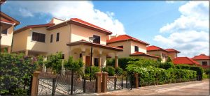 Different Types of Houses in Ghana-Townhouses