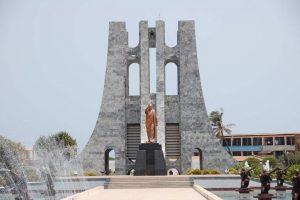 Landmarks. Kwame Nkrumah Mausoleum
