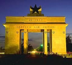 Landmarks.Black Star Monument