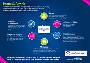 INFOGRAPHIC -- meQasa Home Safety Kit