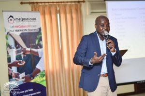 meQasa Estate Agents Training Event Marketing Trainer