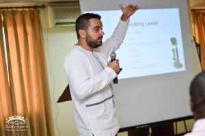 meQasa Estate Agents Training Event Sales Trainer