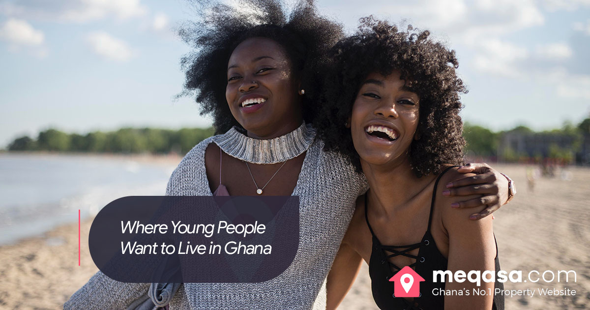 Where Young People Want to Live in Ghana