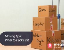 Moving Tips: What to Pack First