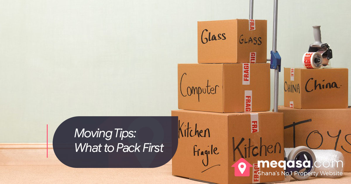 Moving Tips- What to Pack First