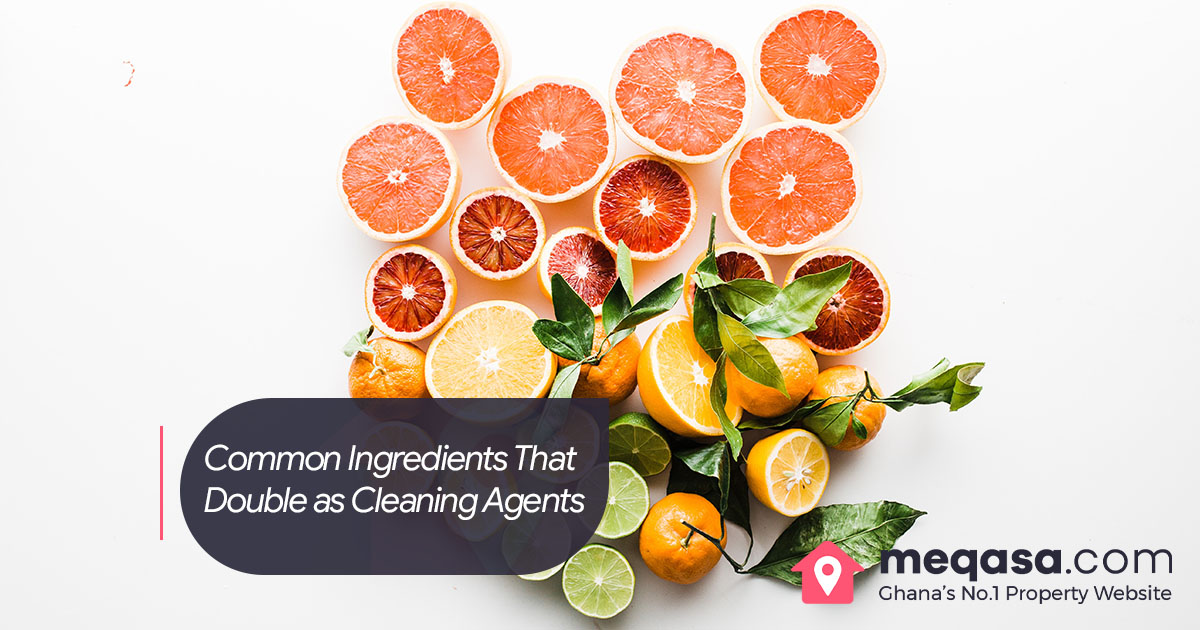 Ingredients That Double as Cleaning Agents