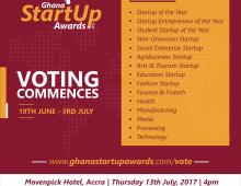 meQasa.com Nominated in 2017 Ghana Startup Awards