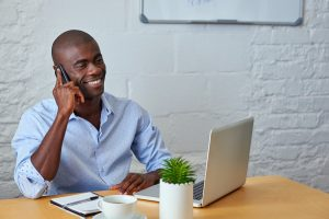 cold calling prospective buyers