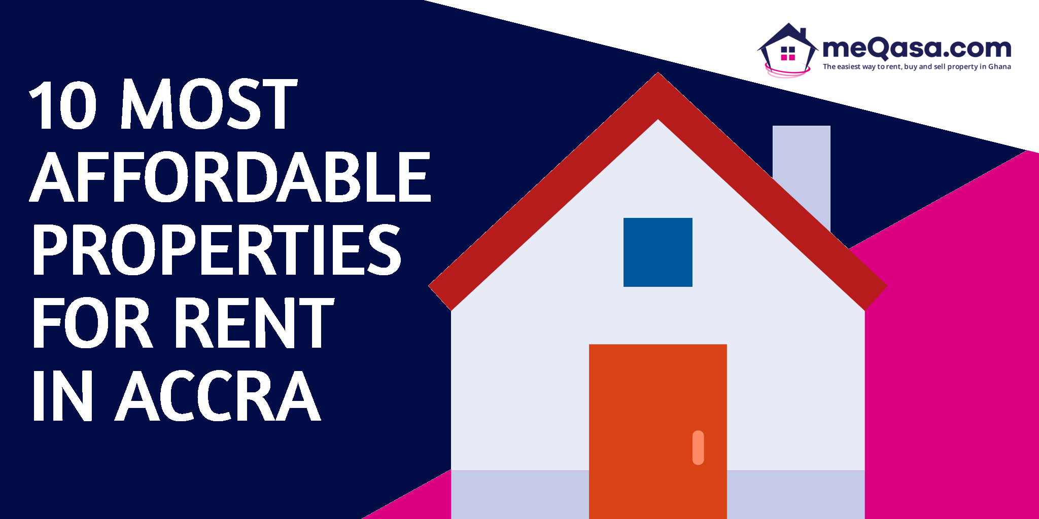 10 Affordable Properteis for Rent in Accra on meQasa.com