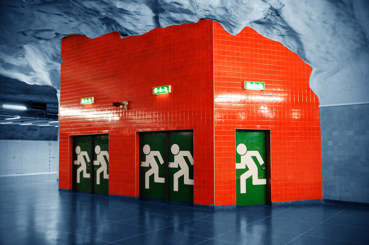 Emergency Exit | Fire Safety and Prevention Tips
