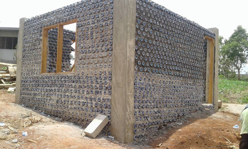 The toa house story building homes using plastic bottles for Building a house blog