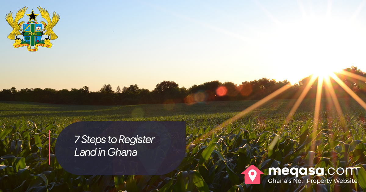 7 Steps to register land in Ghana. Photo by Jake Gard on Unsplash