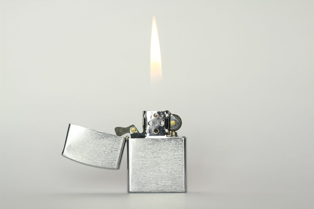 Lighter as a source of home fire | Fire Safety Tips