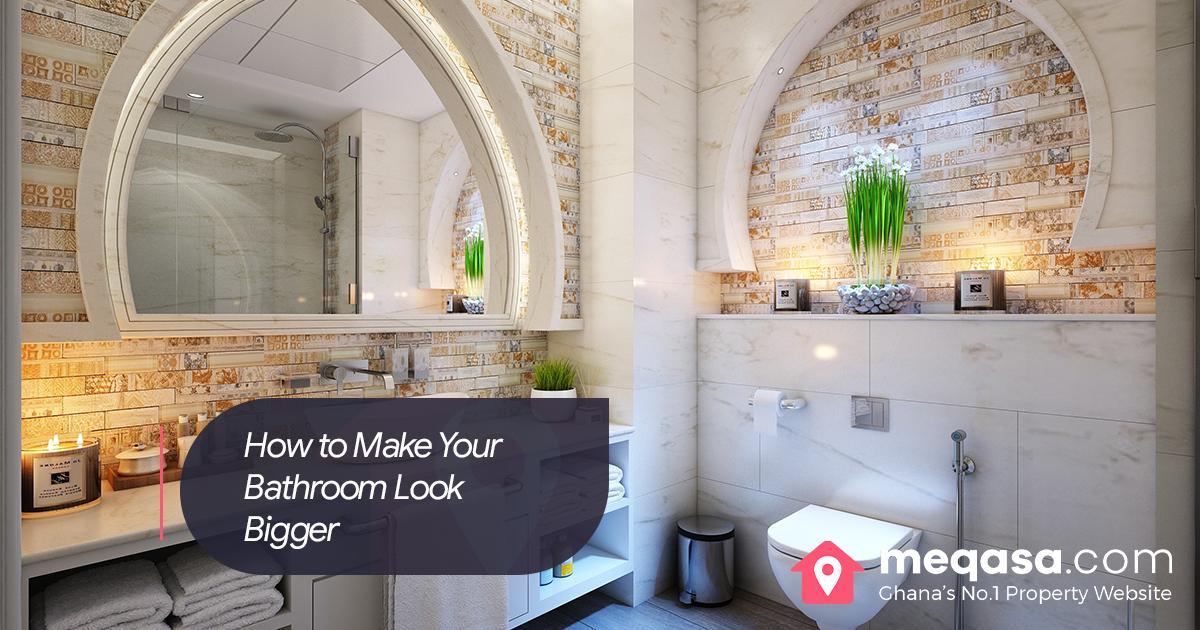 How to Make Yourself a big Bathroom