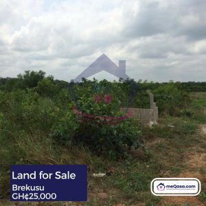 Land for Sale at Brekusu