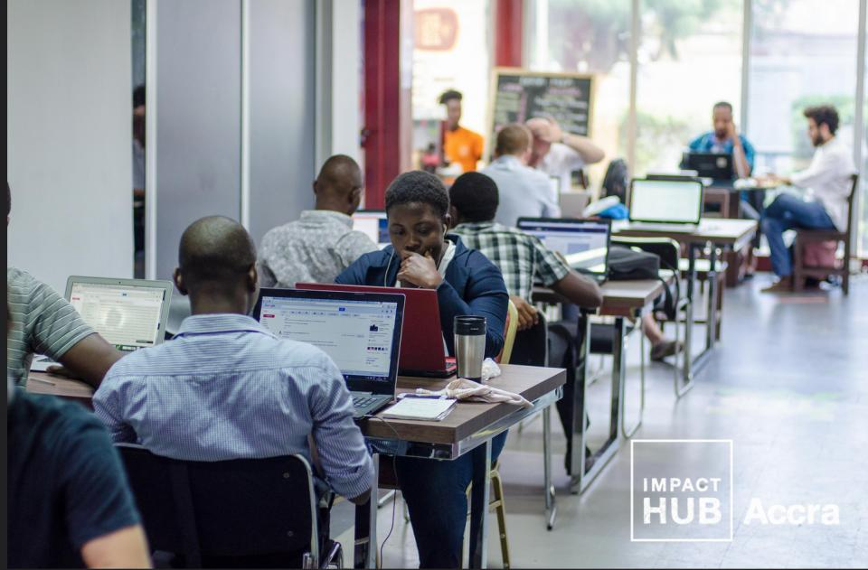 Impact Hub Accra co-working space