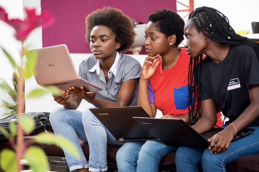 Unlocking women and technology at iSpace Accra, one of many co-working spaces