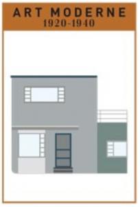 Art Moderne House Style