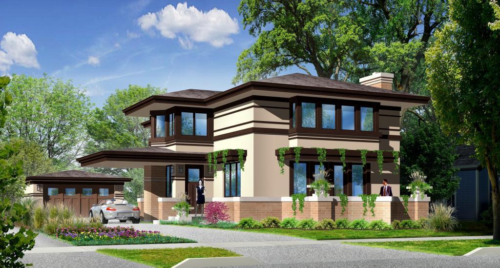 prairie house style