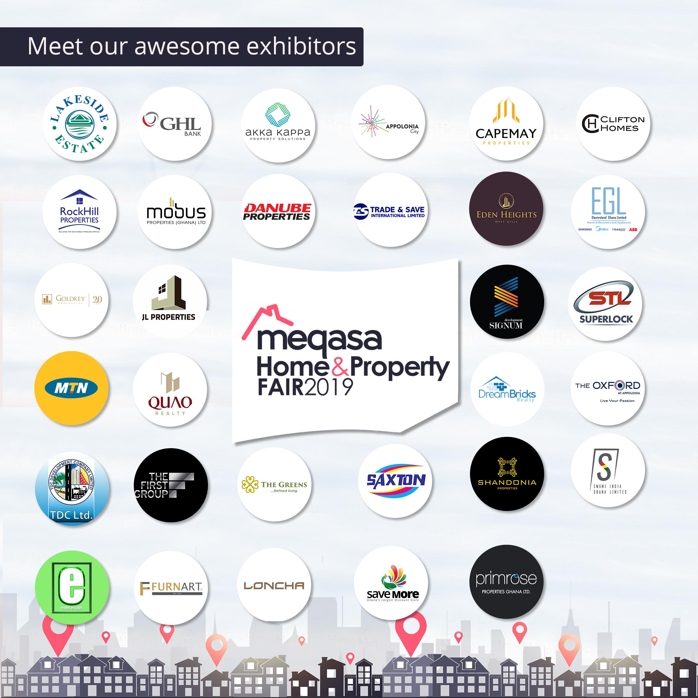 meqasa home and property fair 2019 exhibitors
