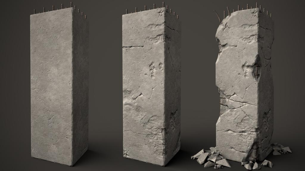 Concrete Pillar
