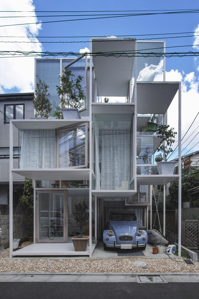 Transparent House / House NA Japan