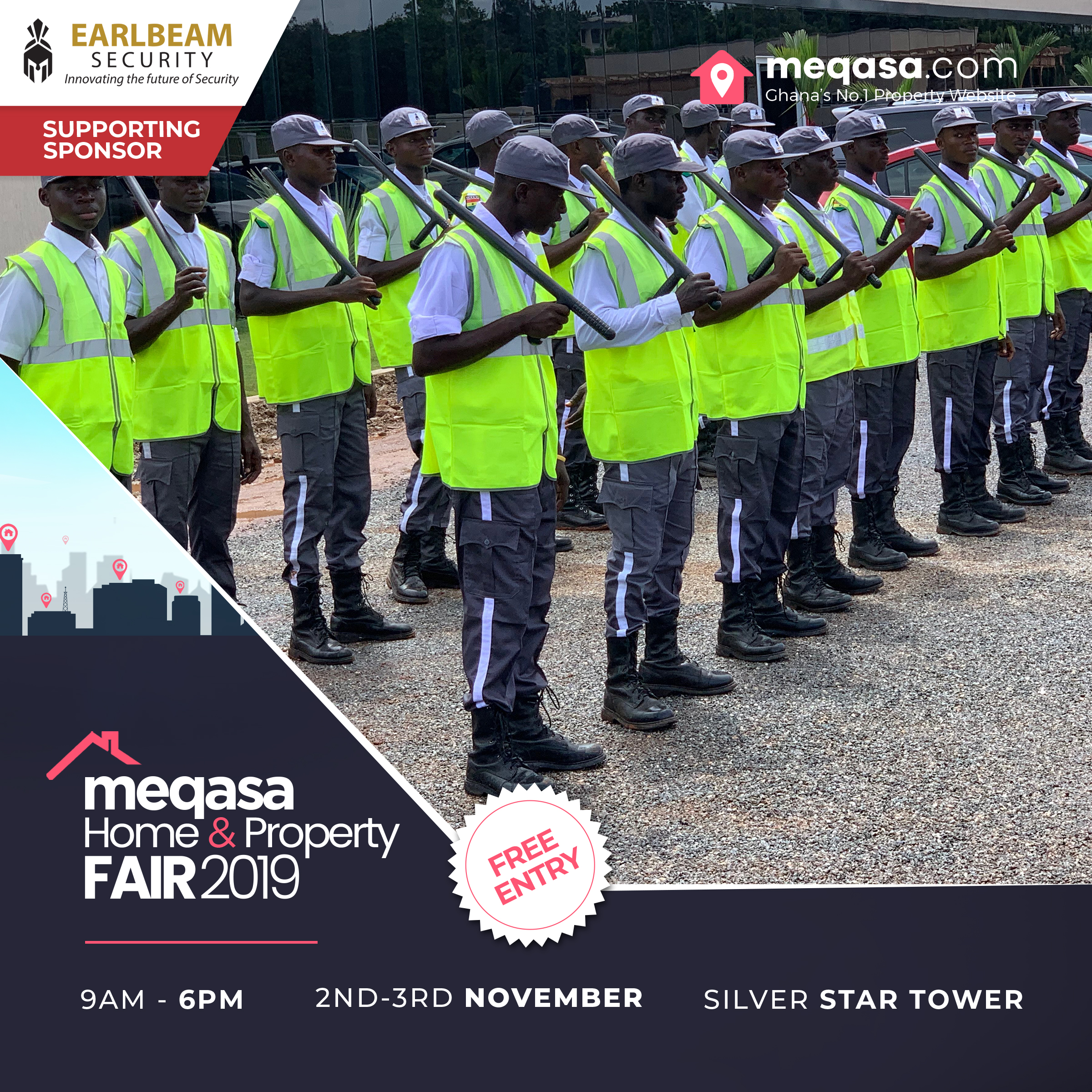 Earlbeam Security Meqasa Home & Property Fair