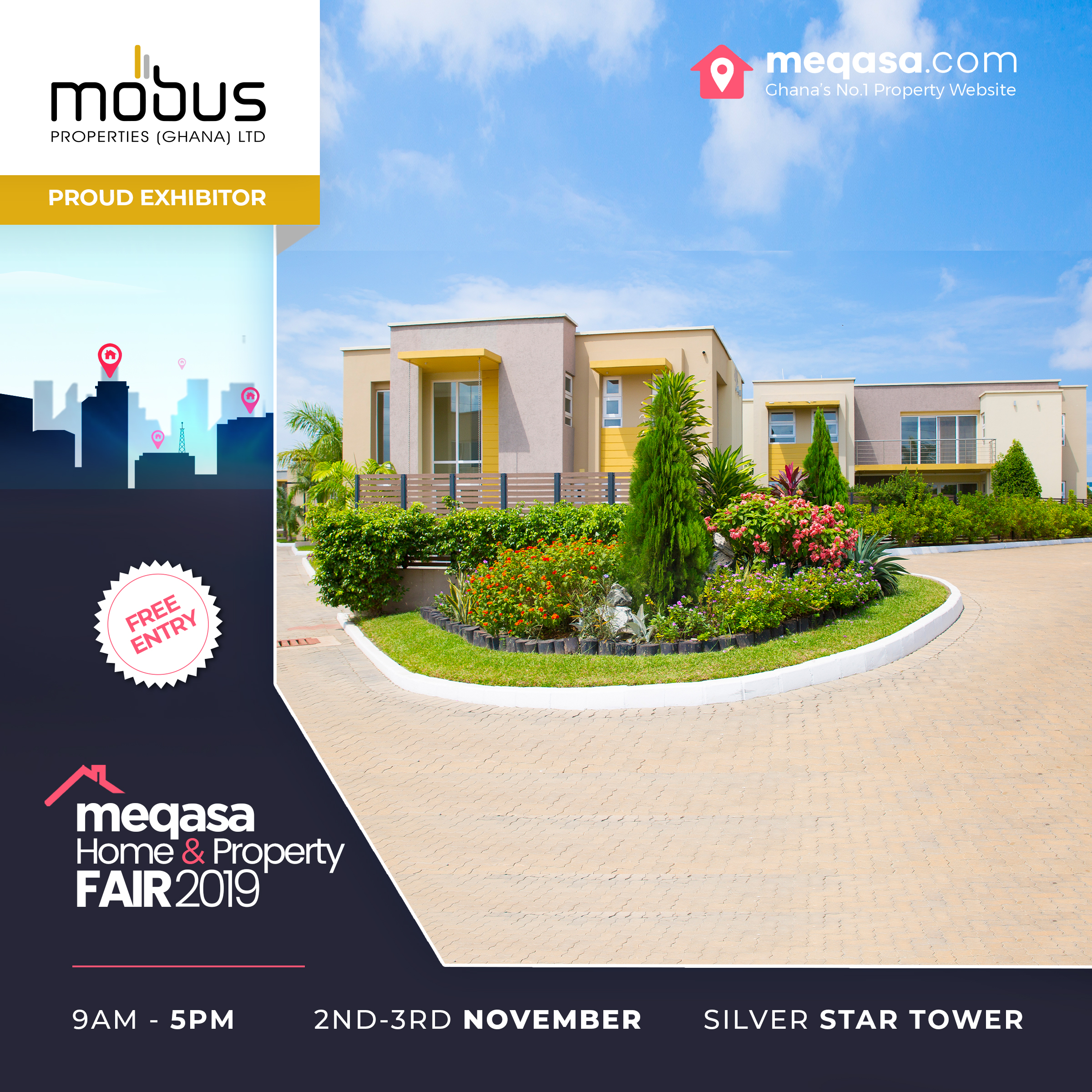 Mobus Properties at Meqasa Home & Property Fair 2019