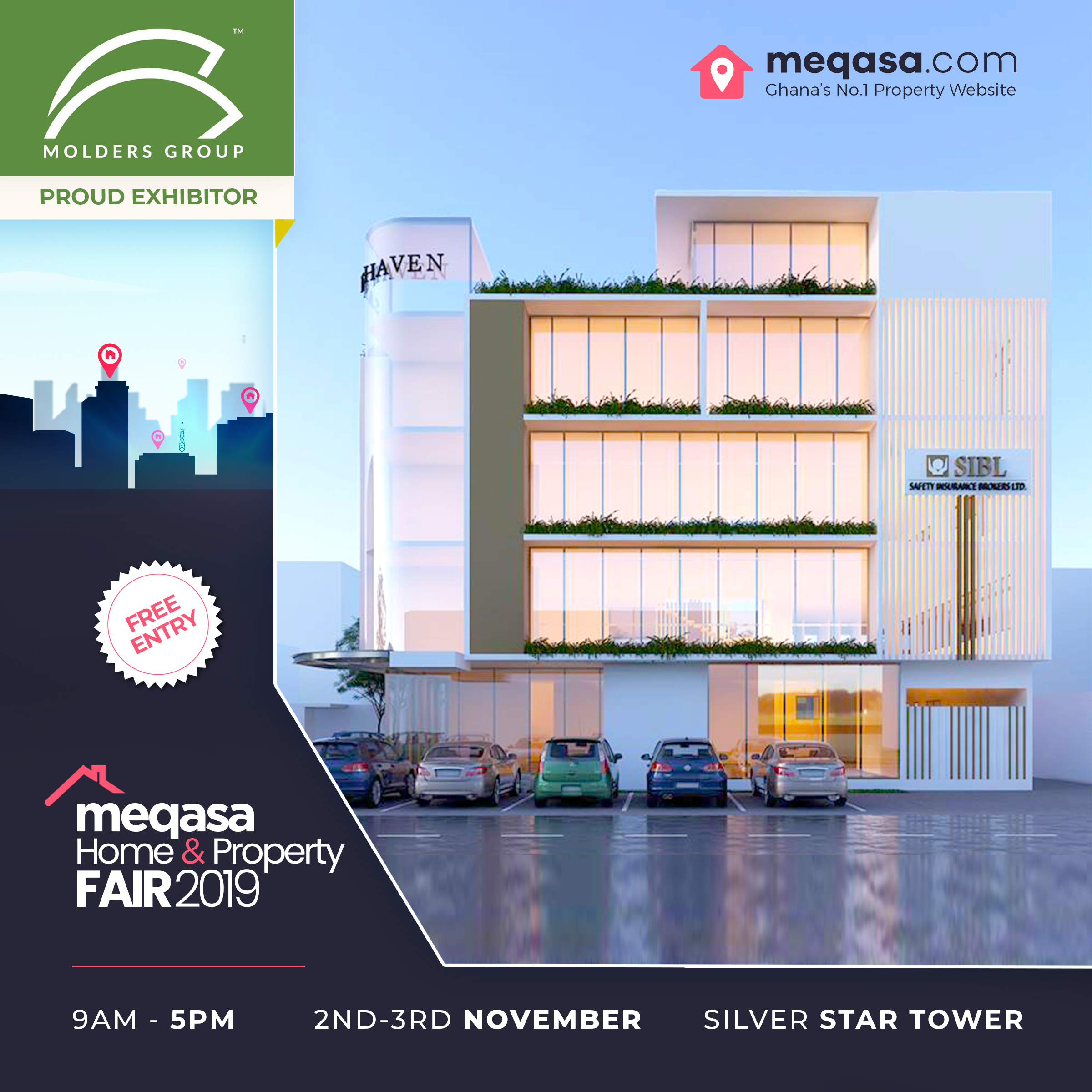 Molders Group at Meqasa Home & Property Fair 2019