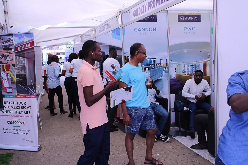 Previous attendants at the meqasa Home & Property fair