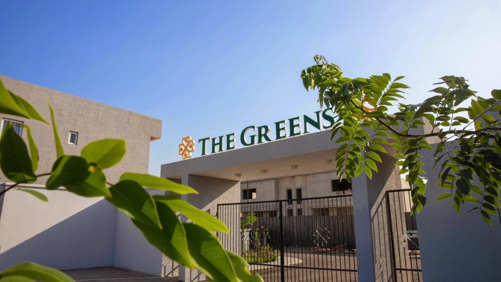 real estate companies in ghana - the Greens