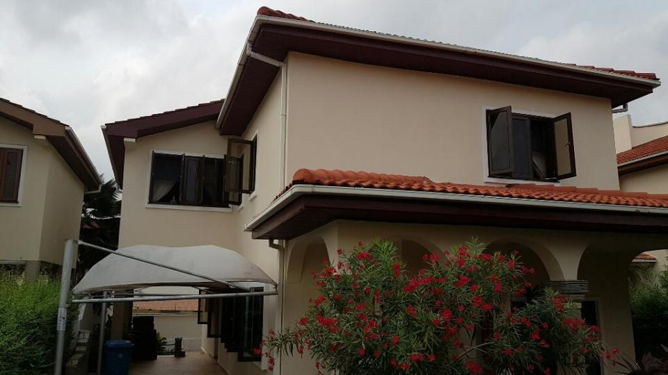 5 bedroom townhouse for rent at cantonments 060170