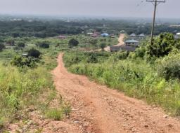 land for sale at Dodowa - Roadside