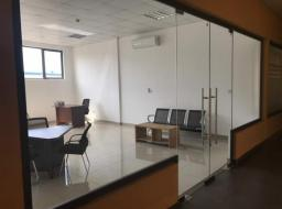 furnished office for rent at Spintex Road
