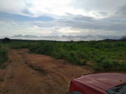land for sale at Gomoa Ojobi, Kasoa Road, Central Region