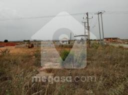 land for sale at Dawhenya Roadside land on Accra-Volta road opposite B5 new factory